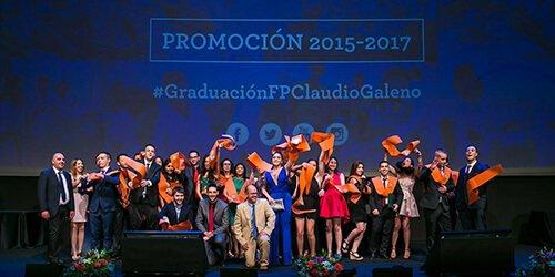 Graduaciones FP Claudio Galeno