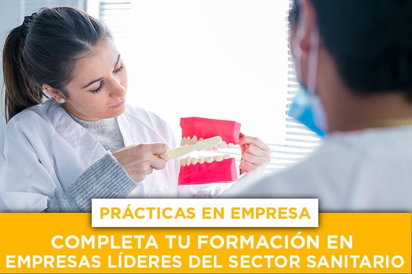 Prácticas en empresa: completa tu formación en empresas líderes del sector sanitario