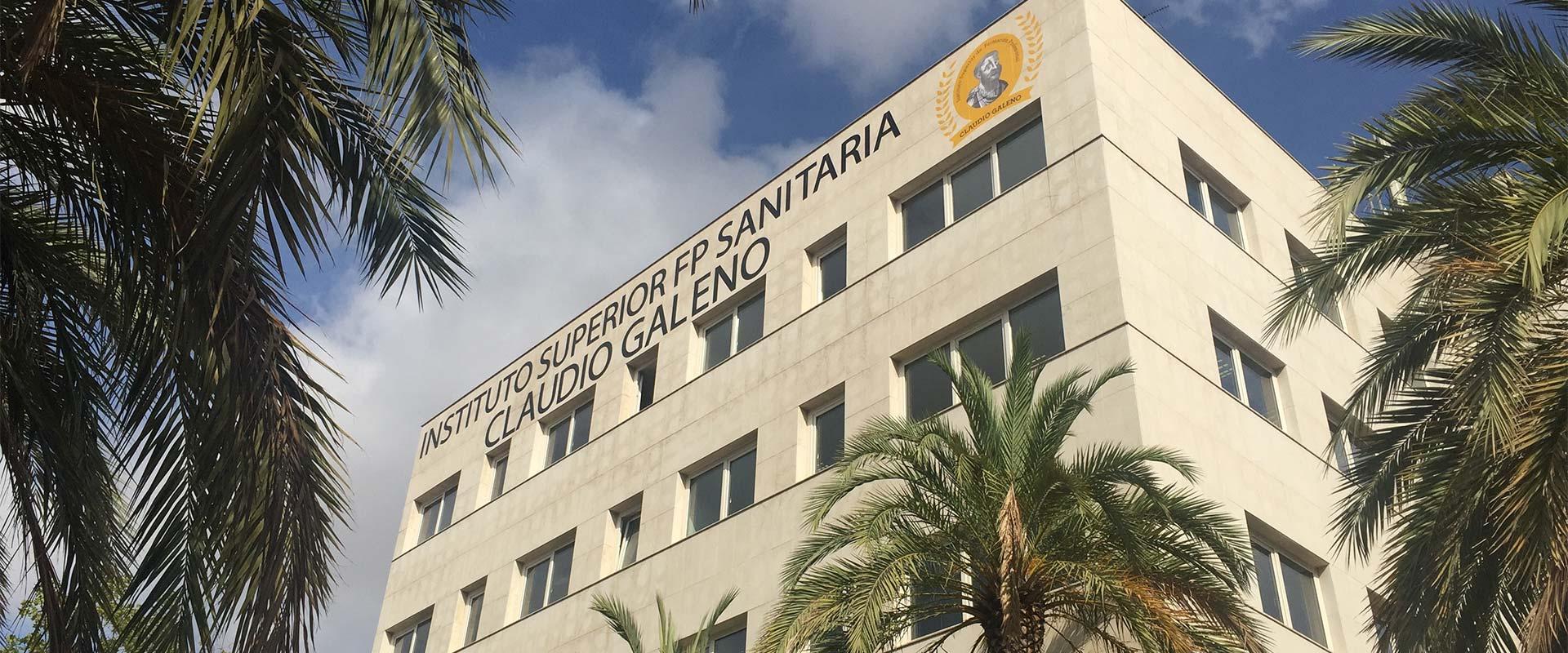 Fachada de nuestro centro en Valencia